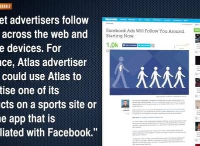 News video: New Facebook Ad Platform Goes Where You Go on the Web